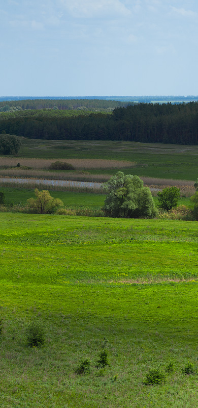 Nature Images by Arthur Tiutenko : Oskil River Valley Panorama